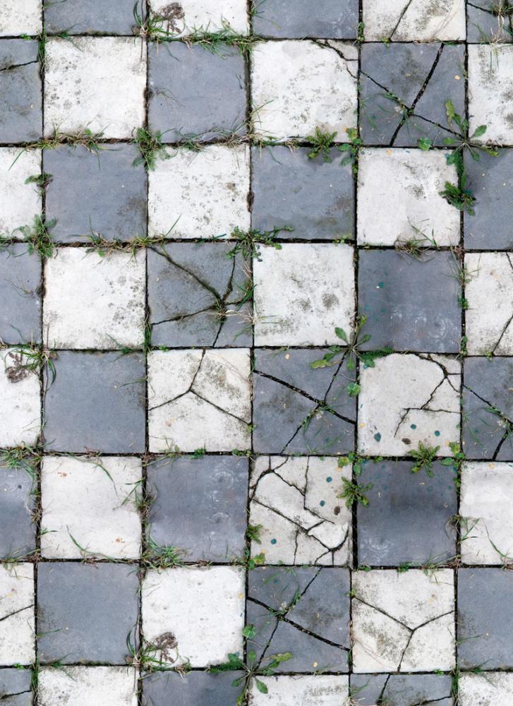 Aged Pavers Floor Drop - galerie
