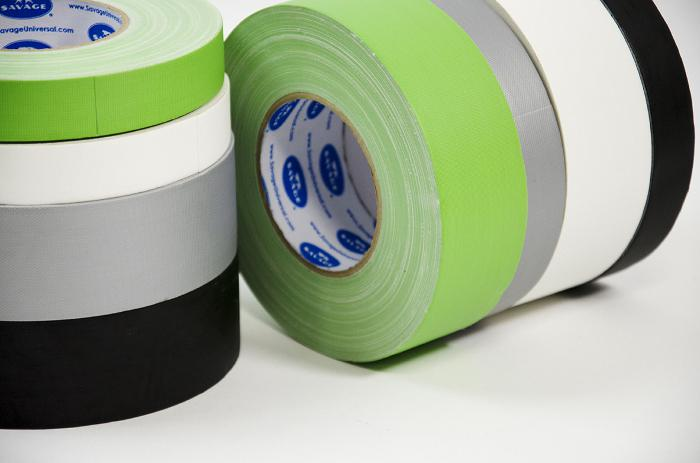 Black Gaffer Tape černá lepící páska - galerie