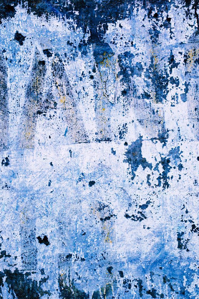 Blue Stone Wall potištěné vinylové pozadí