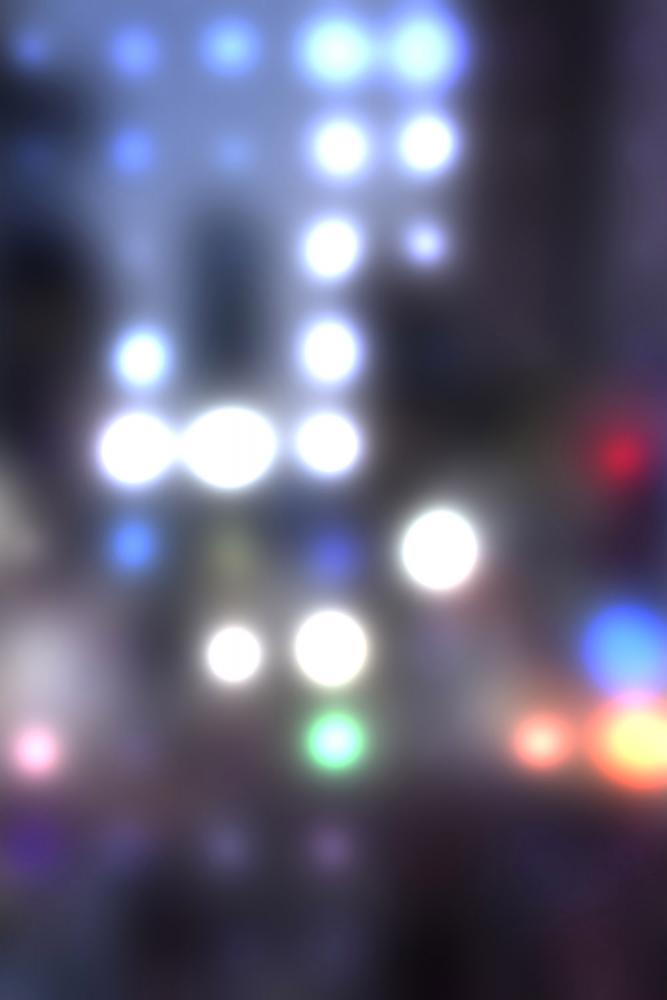 Blured City Lights potištěné vinylové pozadí