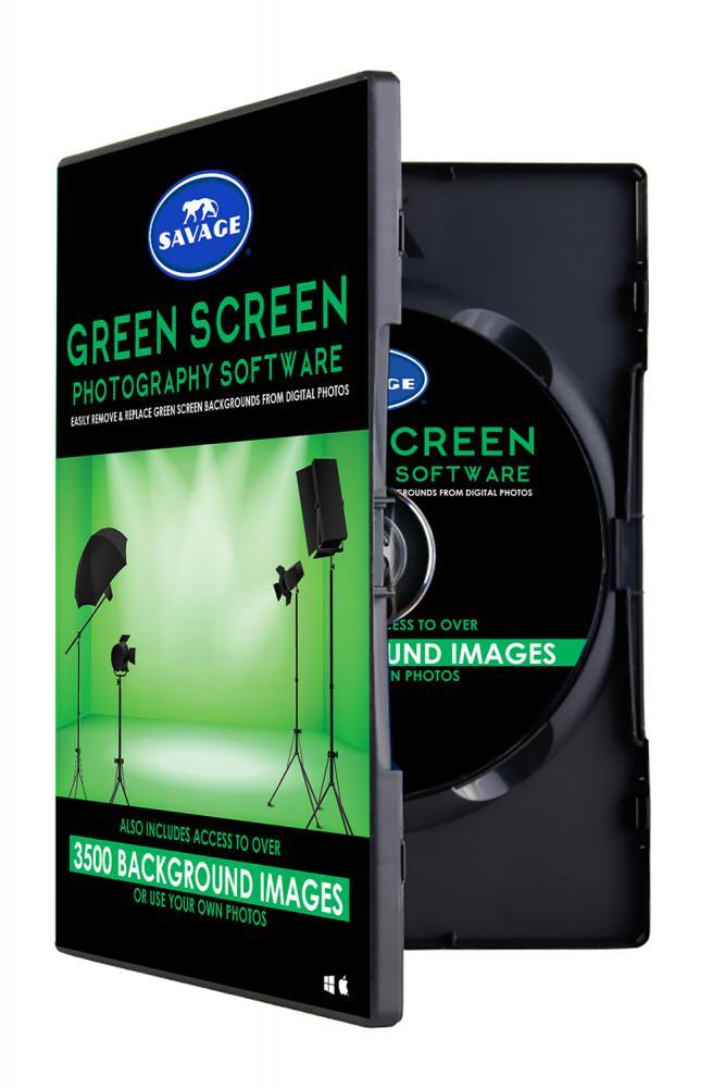 Klíčovací software Green Screen Photo Creator - galerie