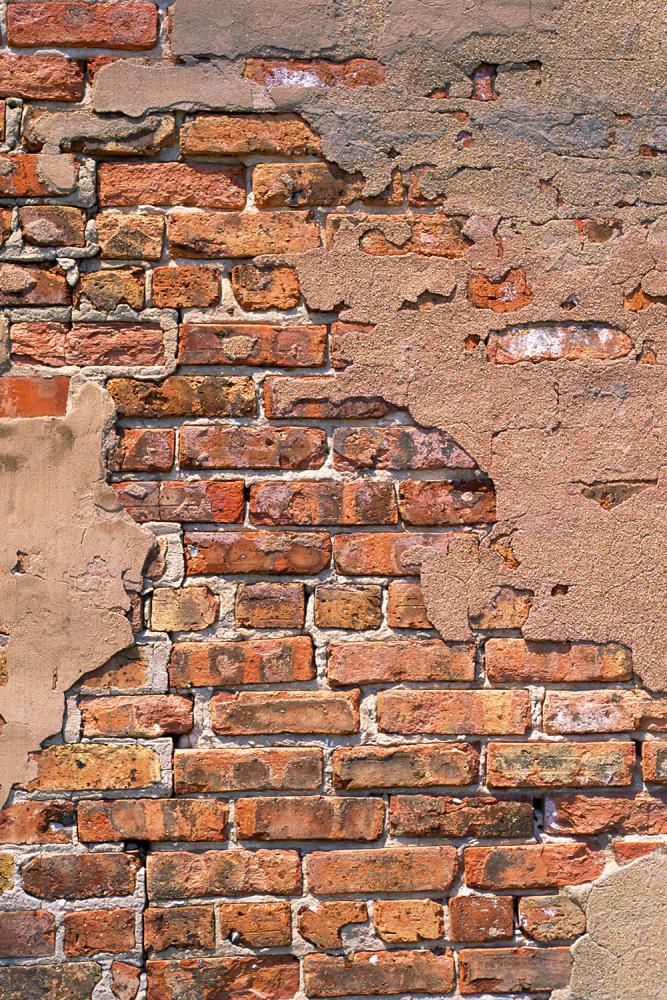 Plastered Red Brick potištěné vinylové pozadí
