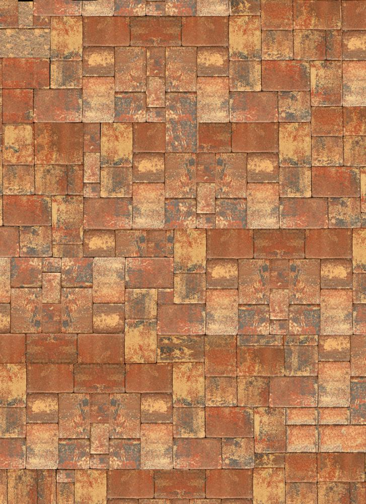 Rustic Pavers Floor Drop