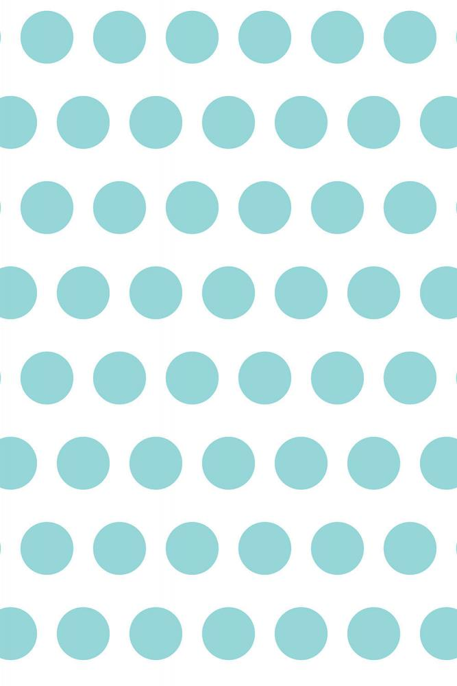 Savage Aqua Polka Dots