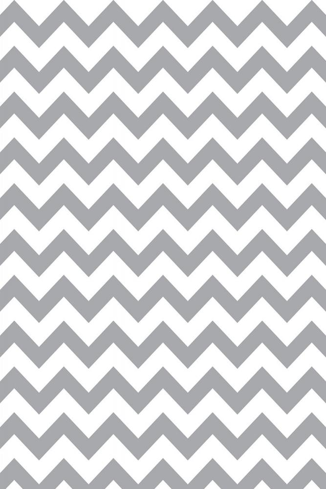 Savage Gray & White Chevron