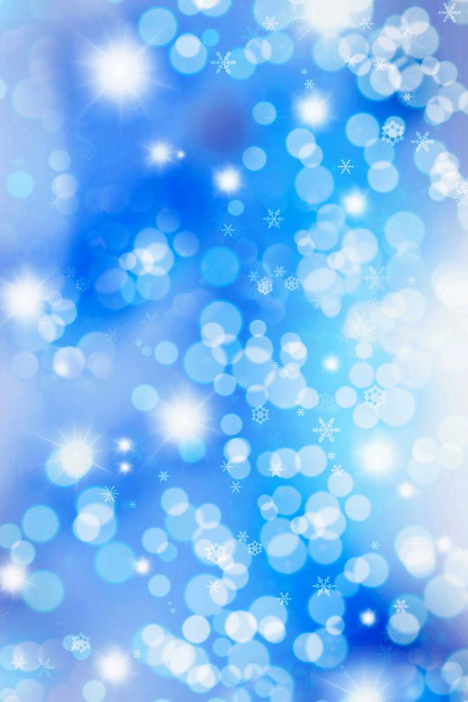 Winter Sparkle potištěné vinylové pozadí