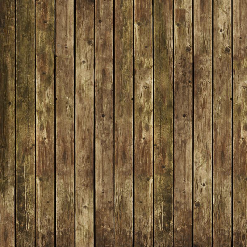 Worn Planks Floor Drop
